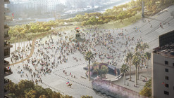 Lyon Bosch + Martic arquitectos y Groundlab ganan concurso internacional para rediseñar eje Alameda-Providencia