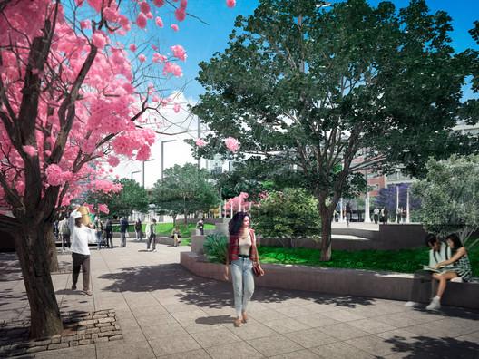 Arborização. Image via Prefeitura de São Paulo