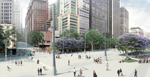 Organização do subsolo. Image via Prefeitura de São Paulo