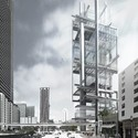Big Bang Towers, Miami. Image Courtesy of Ensamble Studio
