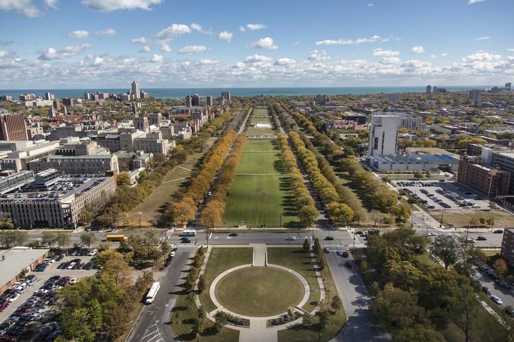 Diller Scofidio + Renfro diseñarán su primera obra en Chicago, Parque Midway Plaisance en Chicago. Imagen © The University of Chicago; fotografía tomada por Tom Rossiter