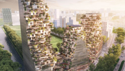 MVRDV Designs 3-Tower Development for City of Amsterdam
