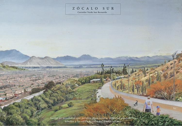 Zócalo. Image Cortesía de Santiago Cerros Isla