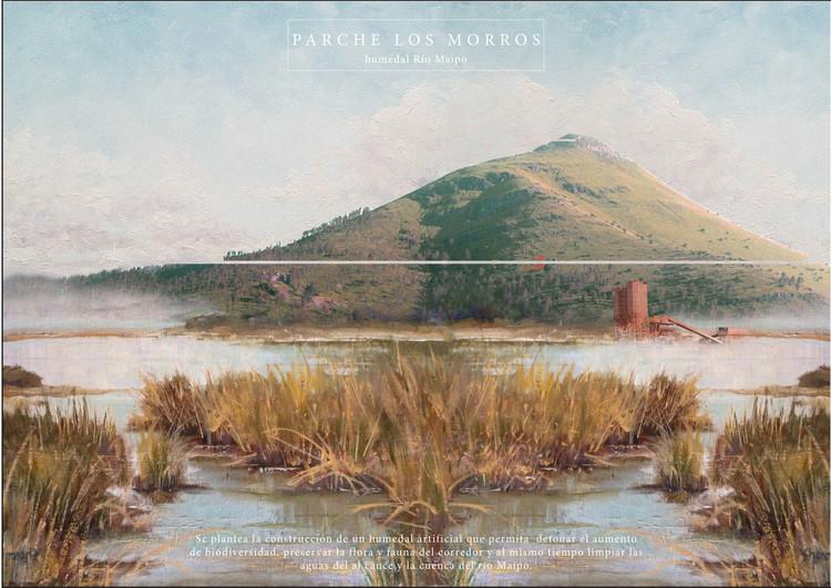 Humedal Río Maipo. Image Cortesía de Santiago Cerros Isla