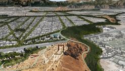 'Quipus verdes: entrelazando naturaleza y sociedad', segundo lugar en Concurso Cerros Isla: Corredor Verde San Bernardo