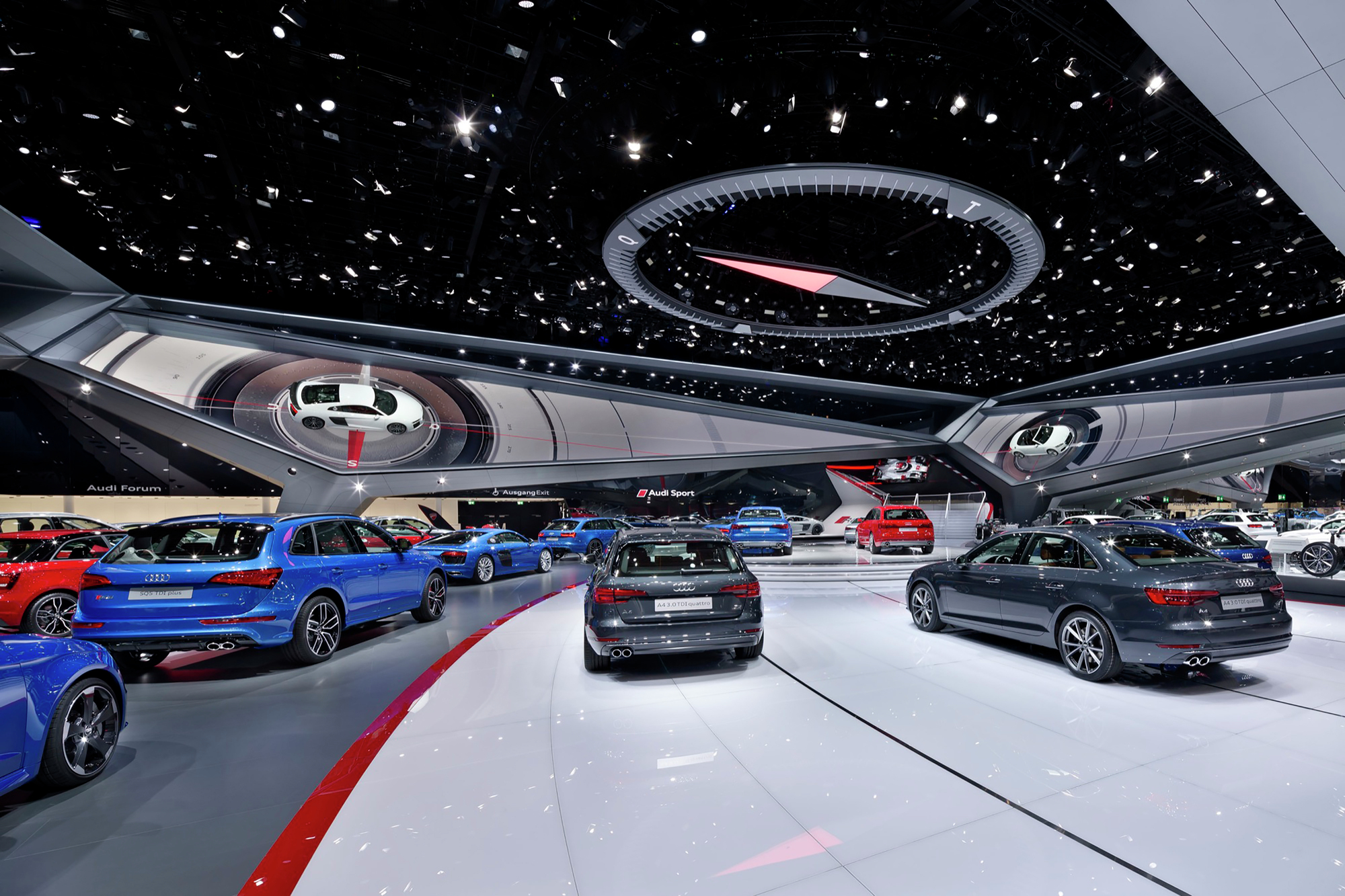Mid Size Car >> Gallery of Audi Motor Show 2015 / SCHMIDHUBER - 6