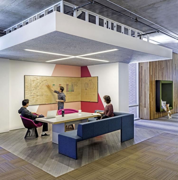Cisco Offices / Studio O+A. Imagem © Jasper Sanidad