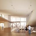 Interior Rendering. Image Courtesy of Parsa Khalili
