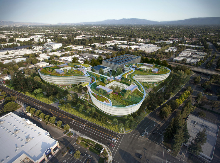 HOK Designs Apple's Newest Silicon Valley Campus, © HOK