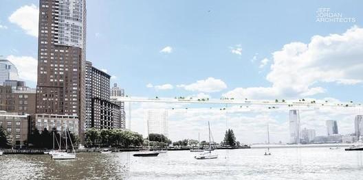 Cortesia de Jeff Jordan Architects, via http://libertybridgeorg.wix.com/libertybridge