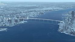 Este puente peatonal te permitirá caminar entre Manhattan y Nueva Jersey