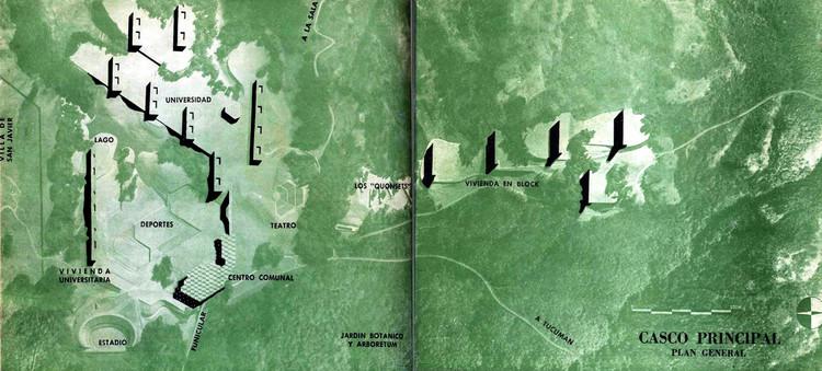 Pedagogías Radicales: Instituto de Arquitectura y Urbanismo de Tucumán (1947-1952), Ciudad universitaria de Tucumán, en Revista Nuestra Arquitectura nº 254 (Sept. 1950)
