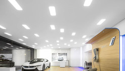 Ponto de Vendas da Cidade BMW i / Atelier Central Arquitectos