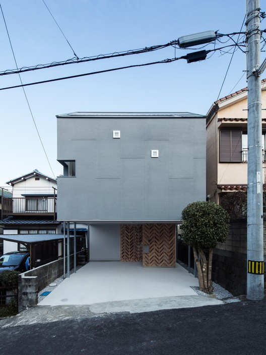 Twin House / y+M design office, © Yohei Sasakura