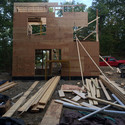Ex of In House Under Construction. Image © Steven Holl Architects