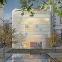 Maggie's Centre. Image © Steven Holl Architects