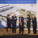 John F. Kennedy Center for Performing Arts Expansion Grounbreaking. Image © Scott Suchman