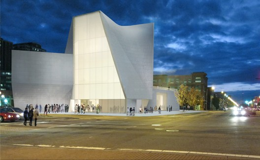Institute for Contemporary Art, Virginia Commonwealth University. Image © Steven Holl Architects