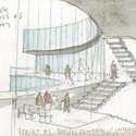 Visual Arts Building, University of Iowa. Image © Steven Holl Architects