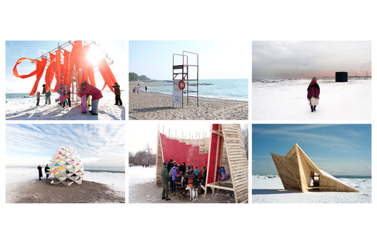 The winning designs from the inaugural winter stations competition in Toronto