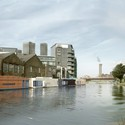 Buoyant Starts / Floating Homes Ltd com Baca Architects. Imagem Cortesia de New London Architecture