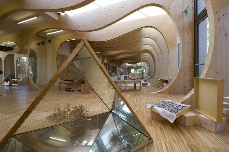 Kindergarten In Guastalla Mario Cucinella Architects Archdaily
