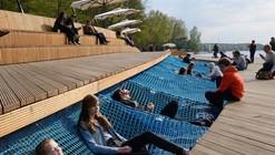 Reurbanização da orla do lago Paprocany / RS+