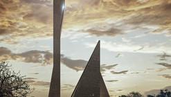 México: Propuesta ganadora para la nueva Catedral de Celaya, por Gaeta-Springall Arquitectos