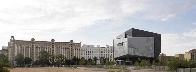 CaixaForum Zaragoza. Image Cortesía de Estudio Carme Pinós