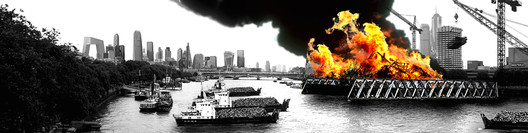 The Green Fire of London. Image Courtesy of A Folly for London