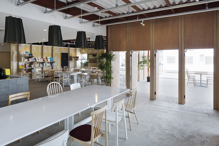cafe/day / Schemata Architects, © Kenta Hasegawa
