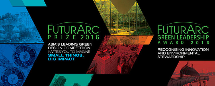 FuturArc Prize 2016 & FuturArc Green Leadership Award 2016, Courtesy of FuturArc
