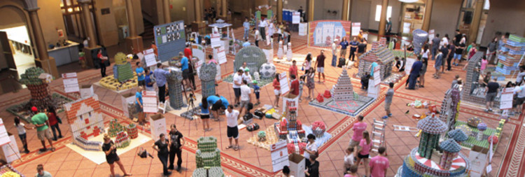 CanstructionDC 2015 , credit: Washington Architectural Foundation