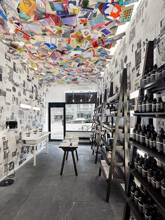 Aesop Chelsea, New York / Aesop Design Department. Image Courtesy of Aesop