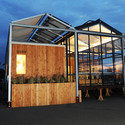 The GRoW Home by University at Buffalo, The State University of New York. Image © Thomas Kelsey/U.S. Department of Energy Solar Decathlon