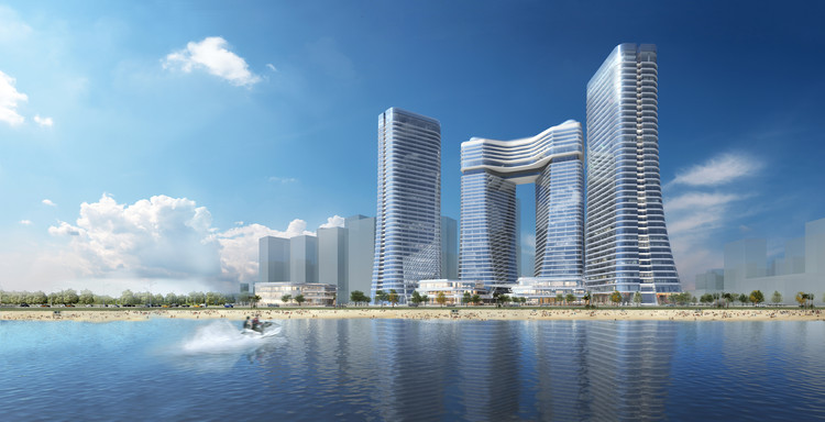 TFP Farrells Selected to Design New Financial Center in Xiamen, Courtesy of TFP Farrells