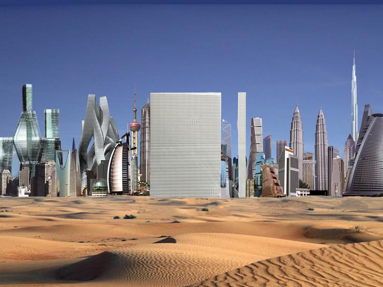 Dubai Renaissance. Imagen © OMA