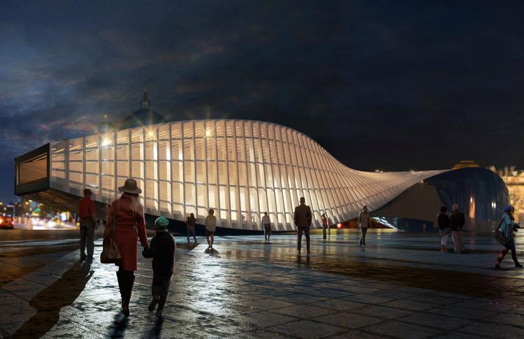 © Sordo Madaleno Arquitectos, render por CGVeron