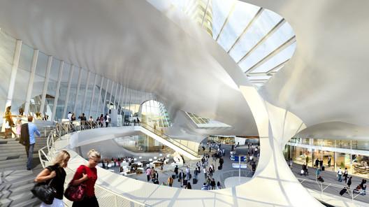 Arnhem Central Transfer Terminal, ©MOKA / UNStudio