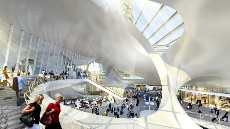 UNStudio to Lecture at LACMA, Arnhem Central Transfer Terminal, ©MOKA / UNStudio