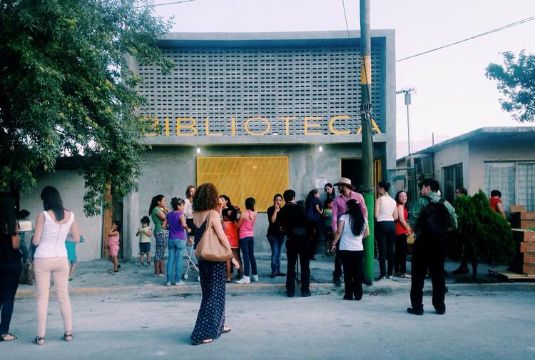 México: rehabilitación de biblioteca en Colonia Victoria, por Proyecto Reacciona, Cortesía de Proyecto Reacciona AC