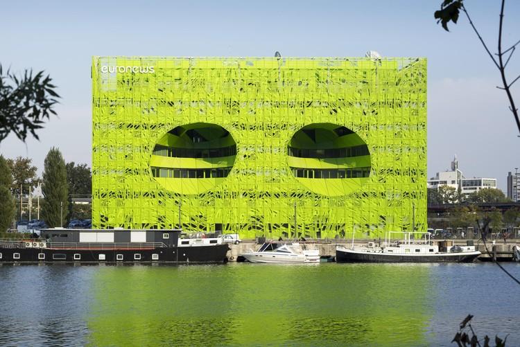 Euronews / Jakob + MacFarlane Architects, © Nicolas Borel