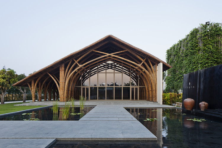 Sala de Conferencias Naman Retreat / Vo Trong Nghia Architects, © Hiroyuki Oki