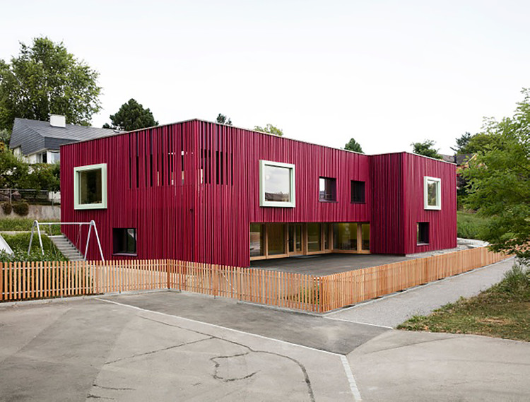 Double Pre-School Facility / Singer Baenziger Architects, © Christian Senti