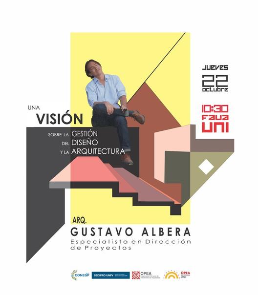 """Conversatorio """"Una visión sobre la gestión del diseño y la arquitectura"""", vía OPEA Seccional UNI"""