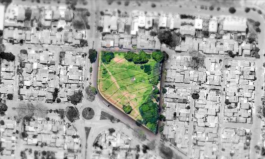 Localização. Image © Gabriela Fernandes, Gustavo Pessini, Thaís Ferreira e Uilian Marconato