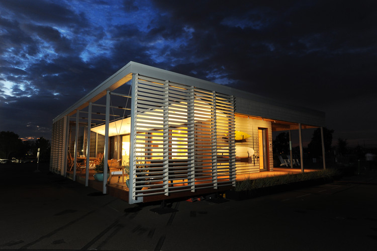 Casa resiliente a huracanes gana el Solar Decathlon 2015, © Thomas Kelsey / U.S. Department of Energy Solar Decathlon