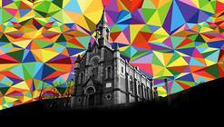Kaos Temple, un crowdfunding para cubrir de arte esta iglesia convertida en skatepark