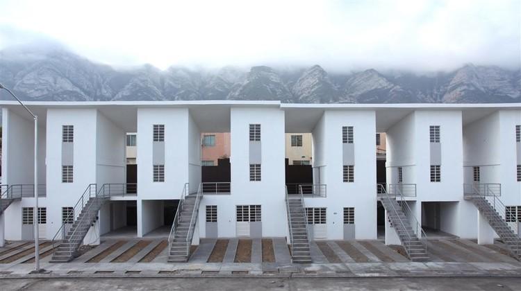 'Espacios de correspondencia', tesis de la participación mexicana en la 15. Bienal de Venecia, Monterrey Housing / ELEMENTAL. Image © Ramiro Ramirez