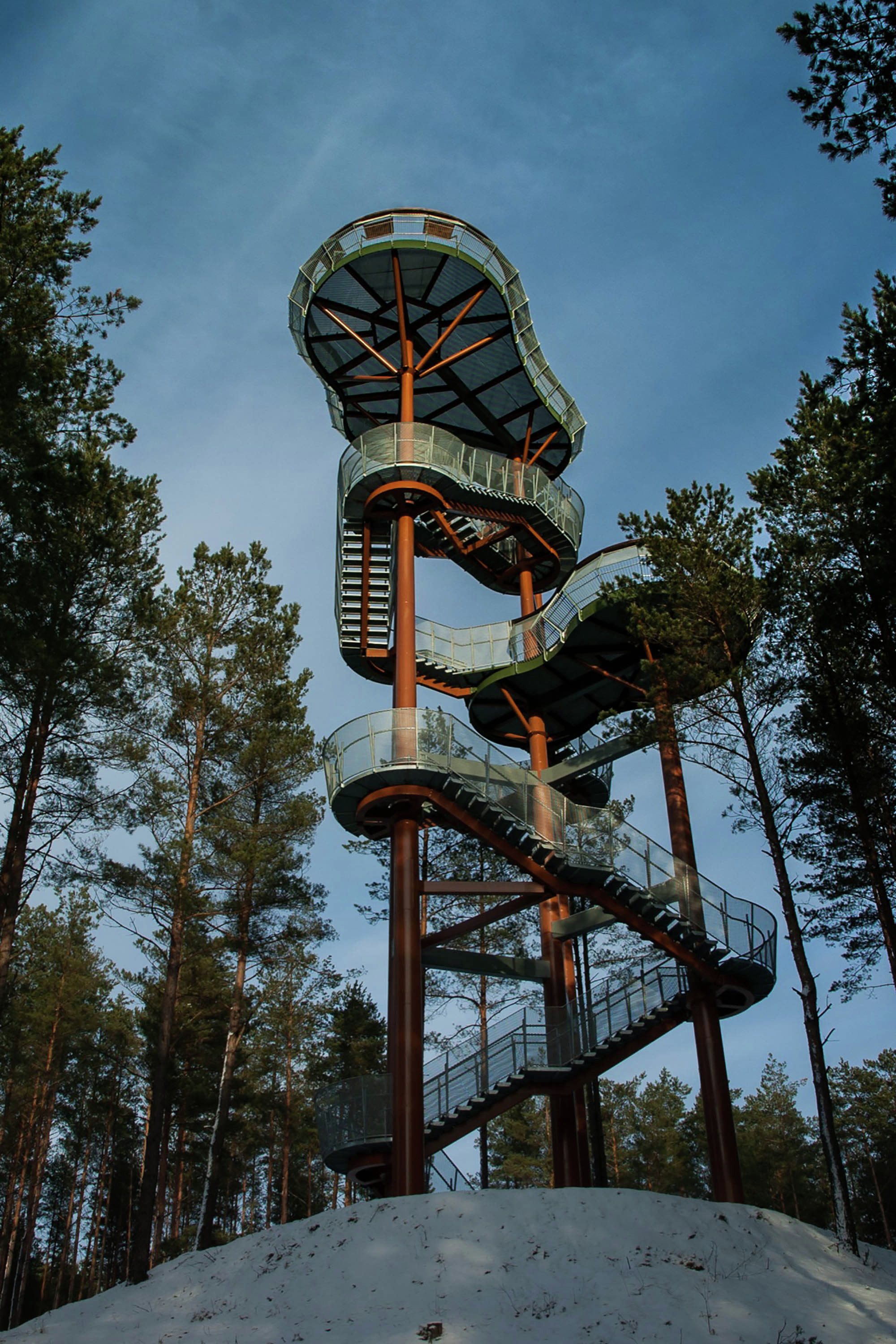 Observation Tower Arvydas Gudelis Archdaily